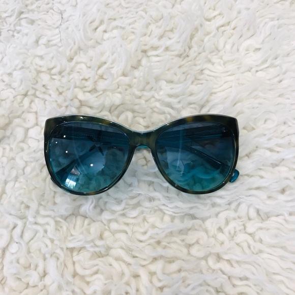 6f8cf6830013 Coach Accessories | Samantha Teal Tortoise Sunglasses | Poshmark